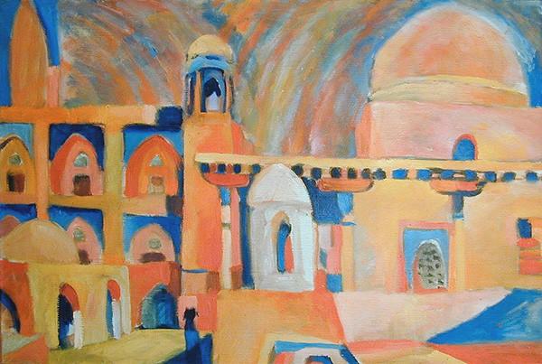 Khiva. Square46x68cm - 1985
