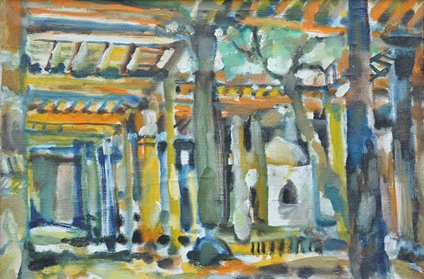Khiva. Juma mosque46x68cm - 1985