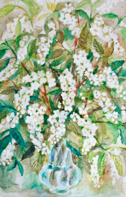 Bird-cherry tree60x40cm - 1986