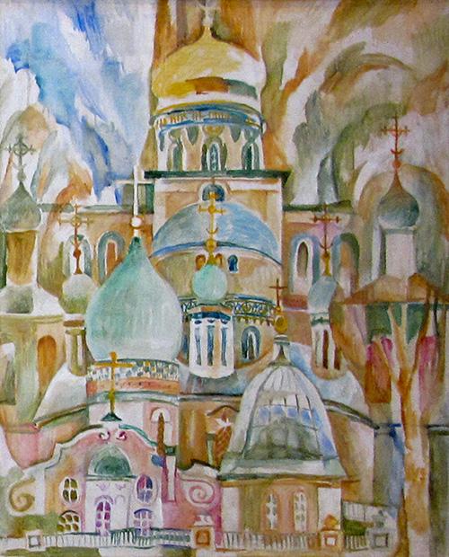 Новый Иерусалим105x83см - 1988