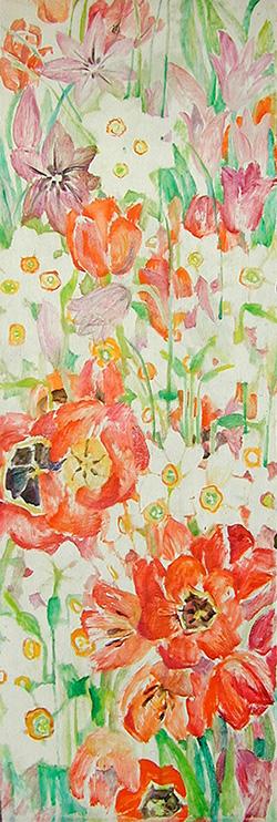 Anniversary flowers170x55cm - 1989