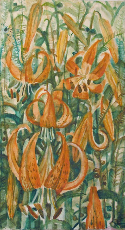 Tiger lilies 1989