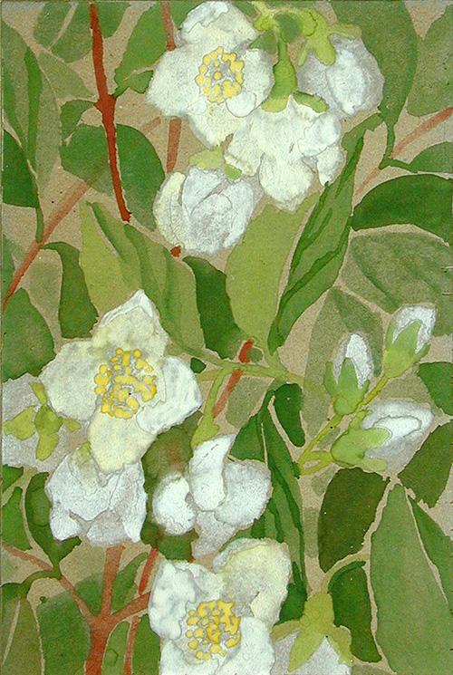 Flowers Marino90x125cm - 1992