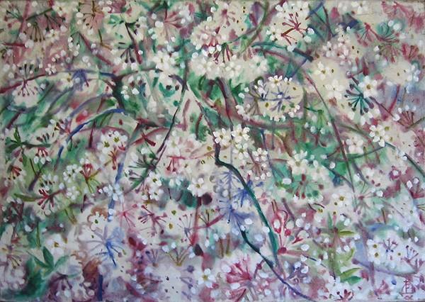 Cherry blossom70x98cm - 1993