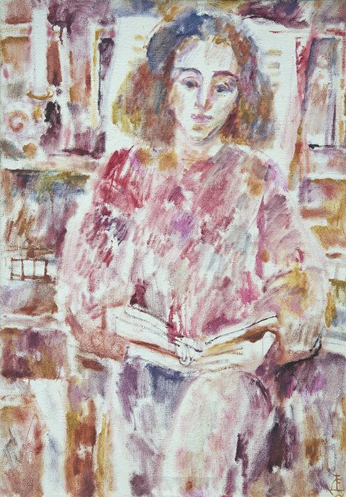 Reading Gofman98x70cm - 1995