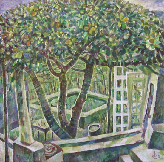 Fig tree67x67cm - 1996