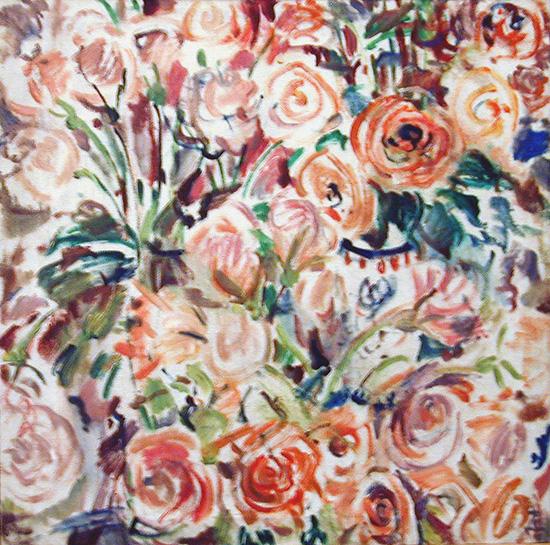 Roses65x65cm - 1996