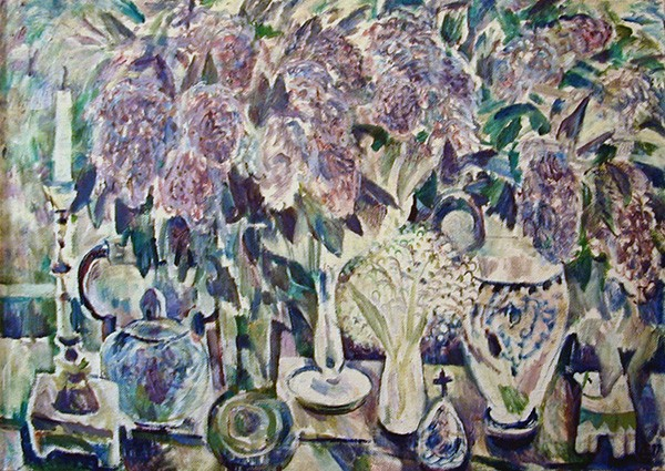On the table68x100cm - 1997