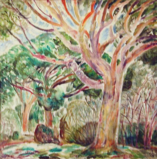 Itialian pine65x65cm - 1997