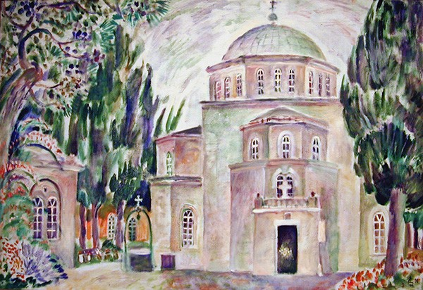 Church of the Ascension66x98cm - 1998