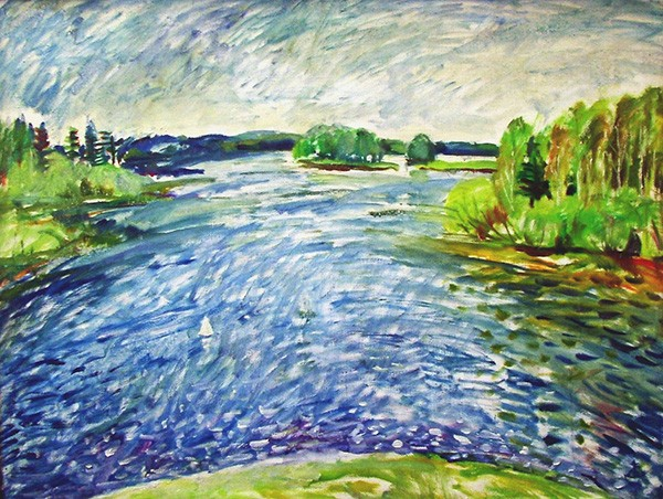 May water60x80cm - 2001