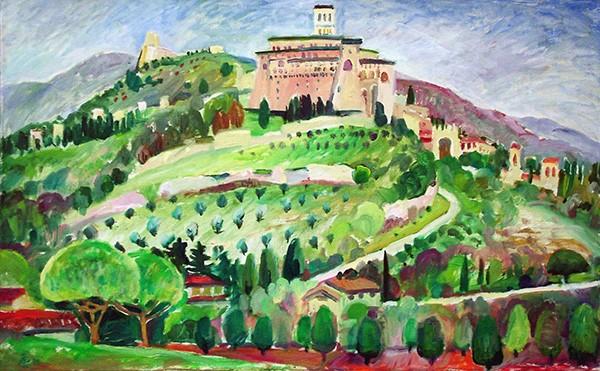 Assisi 150x80cm - 2003
