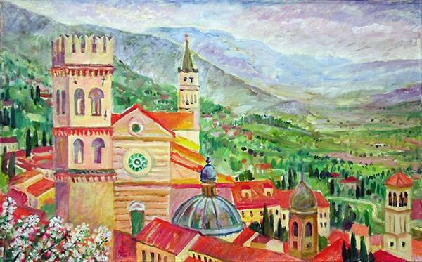 Assisi 250x80cm - 2003