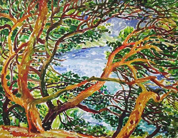 Crimean pine70x90cm - 2004