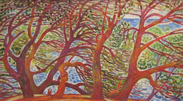 Squirrel meadow50x90cm - 2005