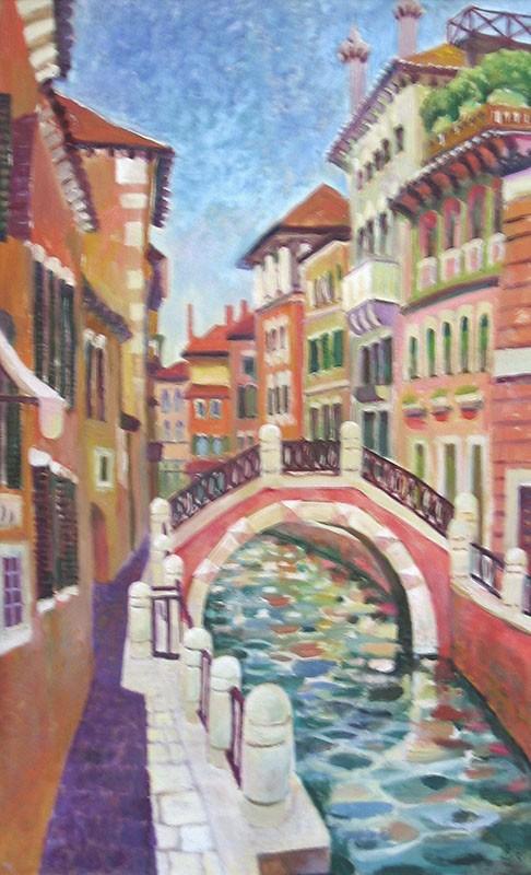 Венеция. Сиеста80x50см - 2006