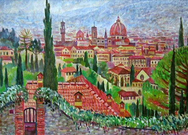 Флоренция50x70см - 2006