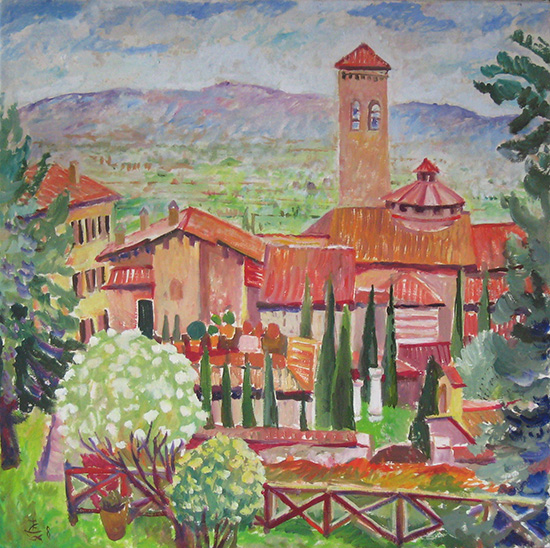 Assisi spring60x60cm - 2008