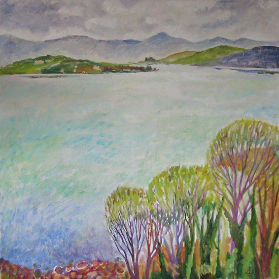 Lago Trasimeno60x60cm - 2008