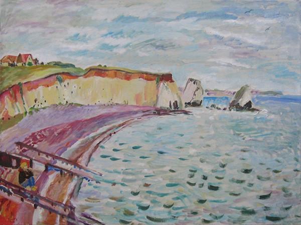 Залив Фрешуотер60x80см - 2008