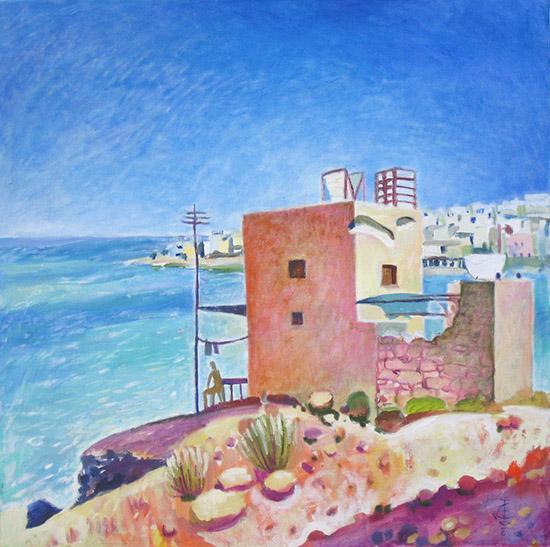 Мальтийский дом61x61см - 2008