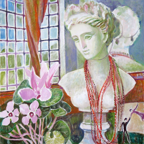 On the mantlepiece61x61cm - 2009