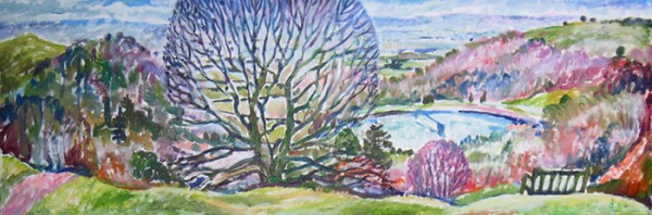 Early spring40x120cm - 2009