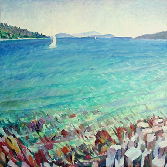Острова60x60см - 2009