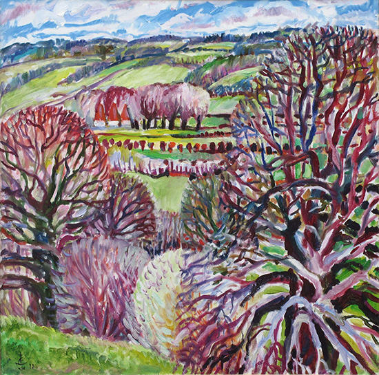 Easter61x61cm - 2010