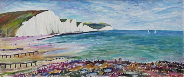 The Seven Sisters50x120cm - 2010