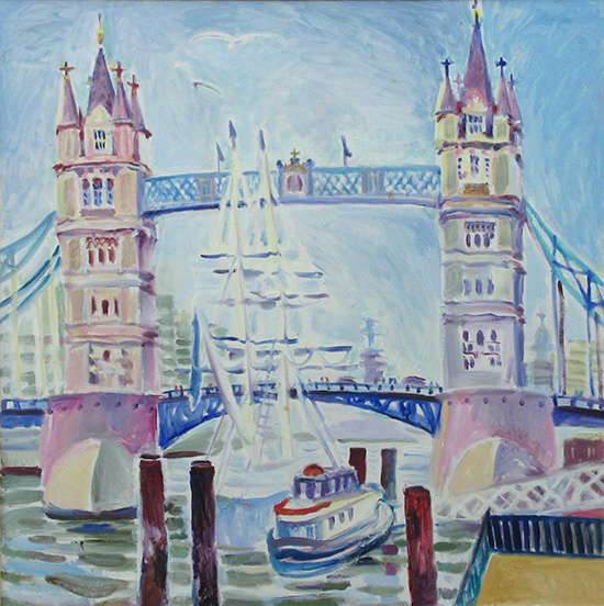 Tower Bridge80x80cm - 2010