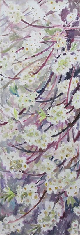 Cherry blossom R120x40cm - 2011