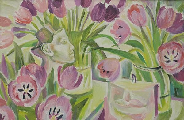 Tulips51x76cm - 2011