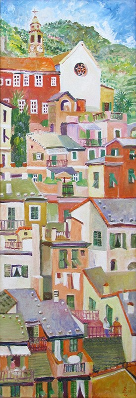 Room with a view120x40cm - 2011