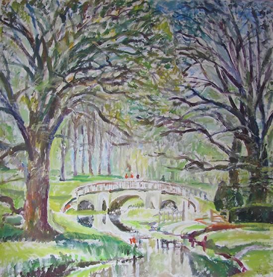 Charlecote park80x80cm - 2012