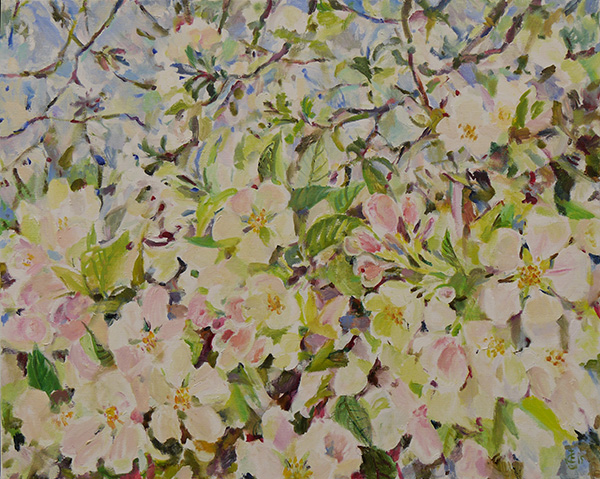 Our apple tree80x100cm - 2015