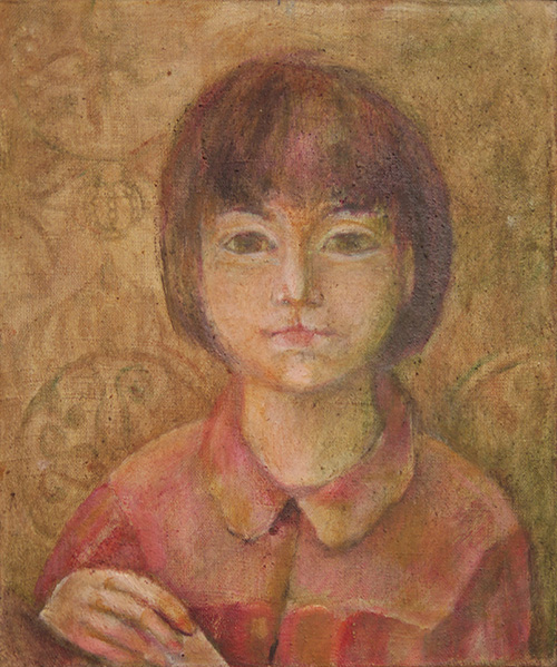 Priest's daughter40x34cm - 1989